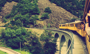 Fotogalerij: 125 jaar Rhätische Bahn, Zwitserland