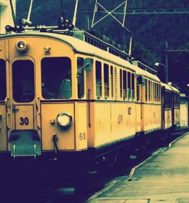 Met de gele pracht door het groene Zwitserland
