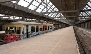 Verlaten treinstations: Station Montzen in België