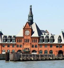 Verlaten treinstations – Central Railroad of New Jersey Terminal in de Verenigde Staten