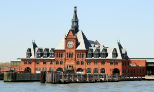 Verlaten treinstations – Central Railroad of New Jersey Terminal in de Verenigde Staten