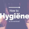 How to: Hygiëne op een nachttrein