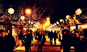 Sprookjesachtige kerstmarkt in Antwerpen