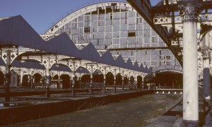 Verlaten treinstations: Manchester Central Railway Station in Engeland
