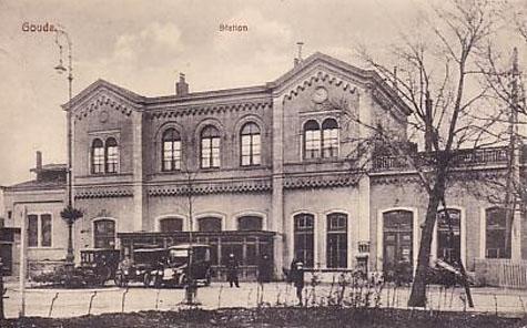 Station Gouda omstreeks 1938/1939 - Stationsweb.nl