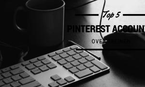 Top 5 Pinterest accounts over treinen