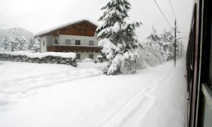 4x treinen naar de wintersport