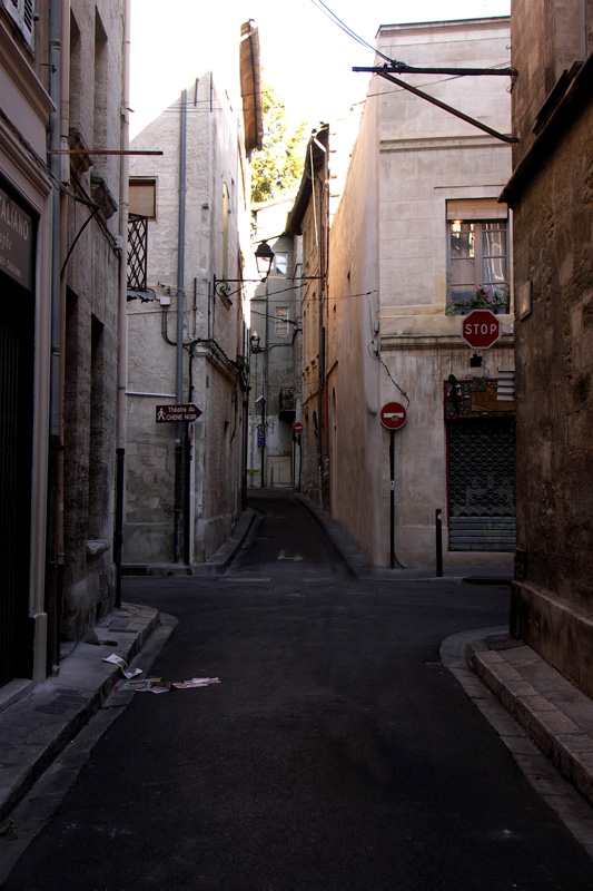 Door de straatjes