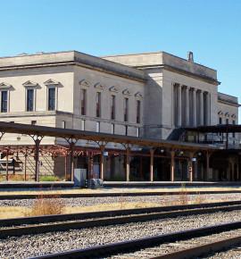 Verlaten treinstations: The Burlington Train Station in Omaha (Nebraska), VS