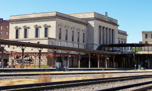 Verlaten treinstations: The Burlington Train Station in Omaha (Nebraska), VS