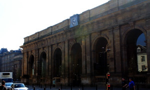 Terug in de tijd…Newcastle Central Station