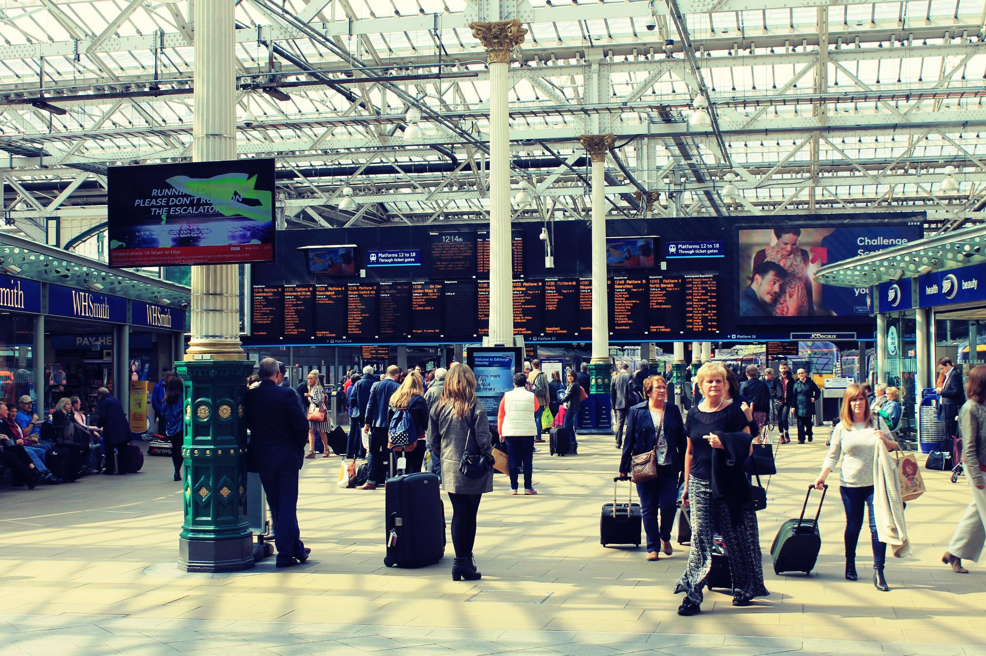 Edinburgh Waverley station