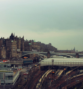 Terug in de tijd…Edinburgh Waverley railway station