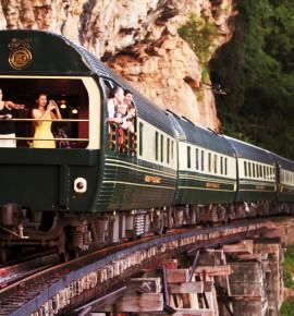 De meest luxueuze treinen in Azië