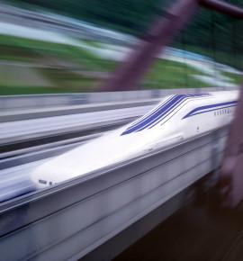 Futuristisch treinen –  Japan
