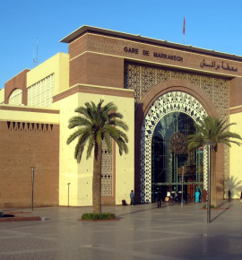 Terug in de tijd…Marrakesh Railway Station