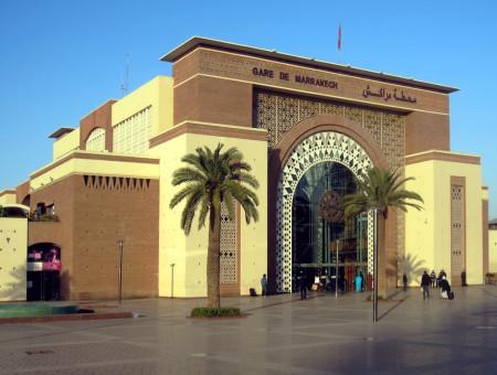 Terug in de tijd…Marrakesh Railway Station