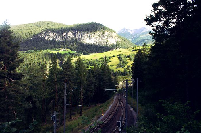 Wandelingen langs het spoor