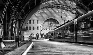 Terug in de tijd…Station Bergen in Noorwegen