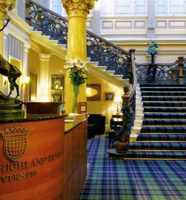Naast het spoor: The Royal Highland Hotel – Inverness, Schotland