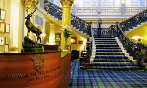 Naast het spoor: The Royal Highland Hotel – Inverness, Schotland