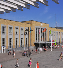 Terug in de tijd…Station Brugge in België