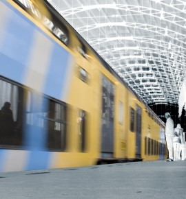 De grote trein etiquette