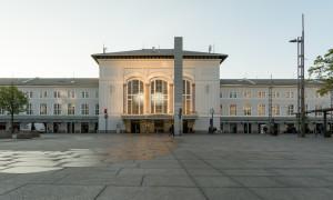 Terug in de tijd…Salzburg Hauptbahnhof