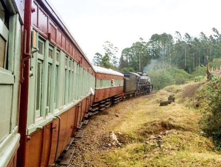 Met de Zuid-Afrikaanse stoomtrein terug in de tijd