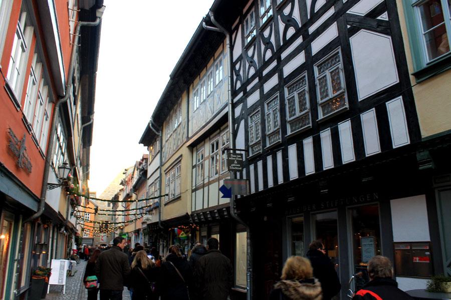 Kerstmarkt in Erfurt