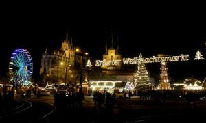 Magische kerstsferen op de kerstmarkt in Erfurt
