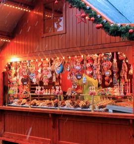Klassieke kerstmarkt in Weimar