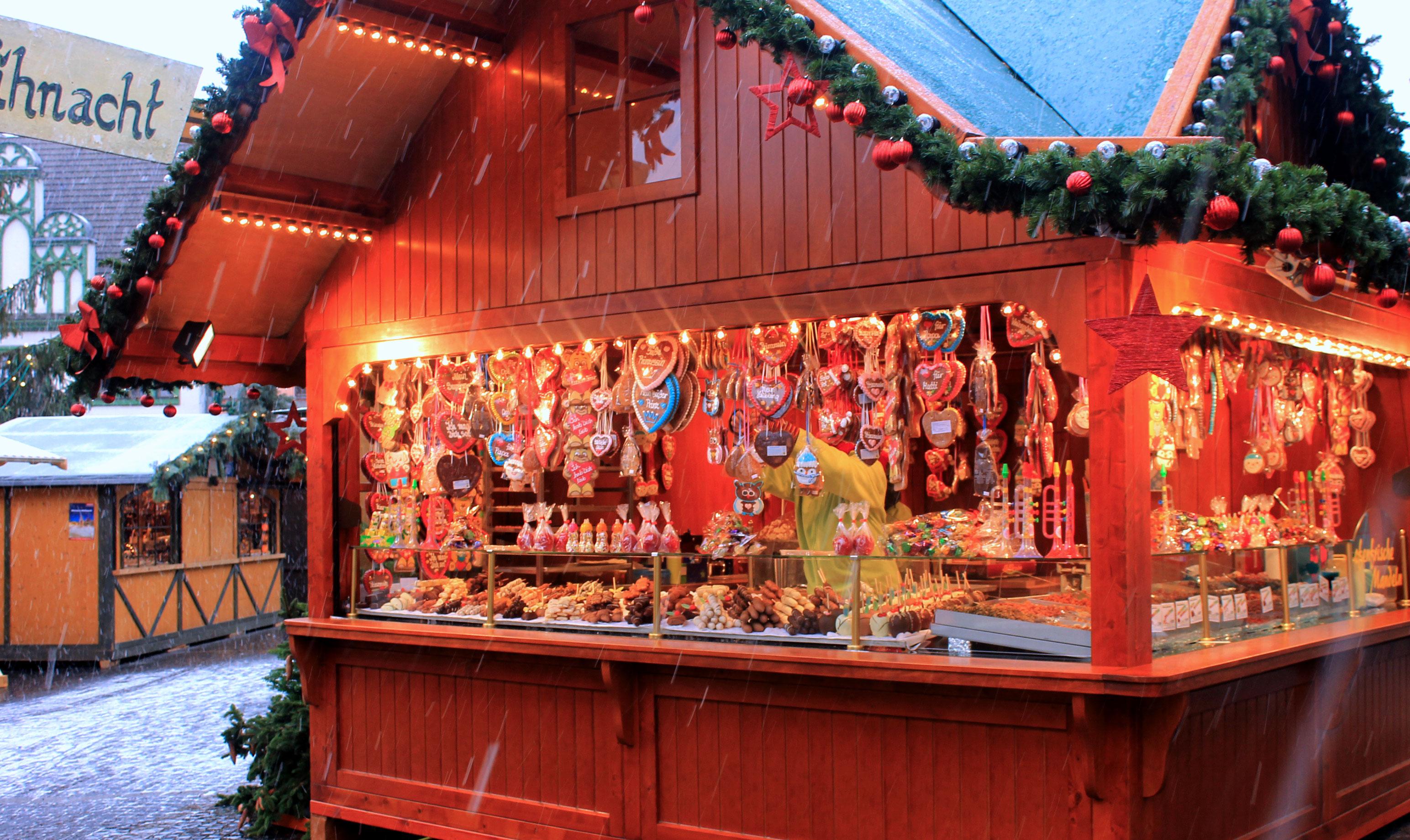Kerstmarkt in Weimar