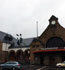 Terug in de tijd…Eisenach Hauptbahnhof