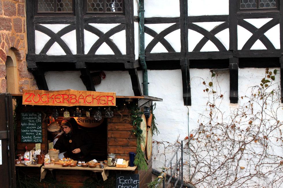 middeleeuwse kerstmarkten van Thüringen