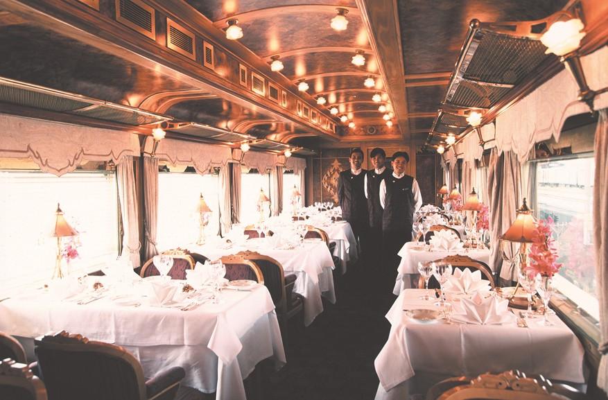 lekkerste treinreizen ter wereld