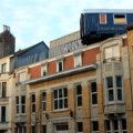 Naast het spoor: Train Hostel – Brussel, België