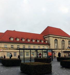 Terug in de tijd…Weimar Hauptbahnhof