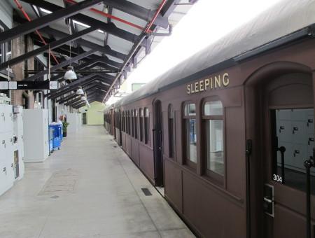 Naast het spoor: Sydney Railway Square YHA – Sydney, Australië