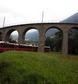 Bestemming bereikt: Tirano, Italië