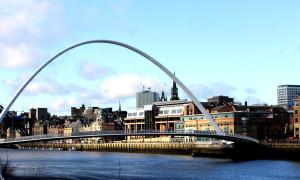 Bestemming bereikt: Newcastle upon Tyne