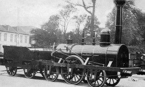 Terug in de tijd…De eerste trein