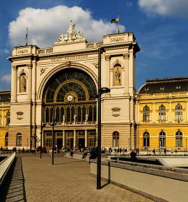 Terug in de tijd…Station Budapest-Keleti