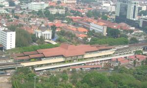 Terug in de tijd…Station Gambir in Jakarta