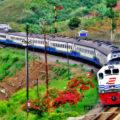Eilanden per trein: Java, Indonesië