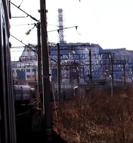 Verlaten treinstations…Station Yanov bij Pripjat, Oekraïne