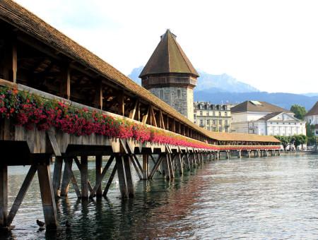 Bestemming bereikt: Luzern, Zwitserland