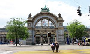Terug in de tijd…Luzern Bahnhof