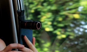 Gadget: Mobile Phone Telescope + WIN