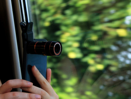 Gadget: Mobile Phone Telescope + WIN